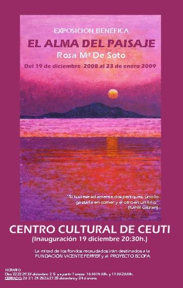 rosa de soto - centro cultural de ceuti
