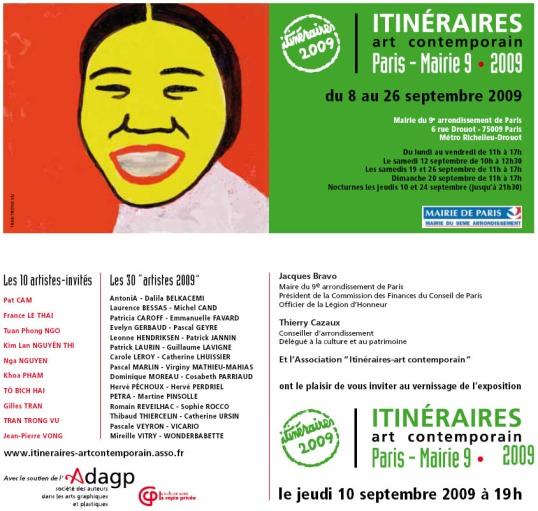 itineraires art contemporain paris